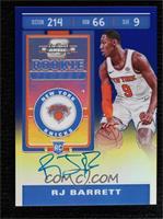 Rookie Ticket - RJ Barrett #/99