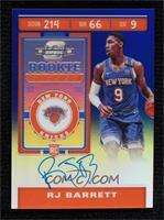 Rookie Ticket Variation - RJ Barrett #/99