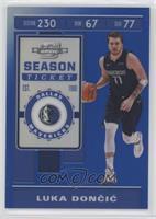 Season Ticket - Luka Doncic #/99