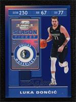 Season Ticket - Luka Doncic [Noted] #/99