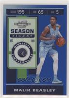 Season Ticket - Malik Beasley #/99