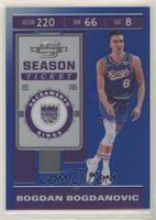 Season Ticket - Bogdan Bogdanovic #/99