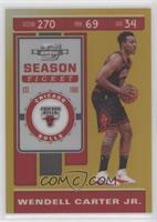 Season Ticket - Wendell Carter Jr. #/10