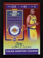 Rookie Ticket - Talen Horton-Tucker #135/149