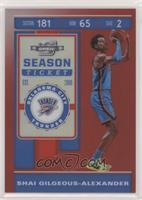 Season Ticket - Shai Gilgeous-Alexander