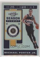 Season Ticket - Michael Porter Jr.