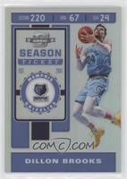 Season Ticket - Dillon Brooks