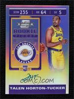 Rookie Ticket - Talen Horton-Tucker