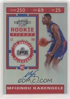 Rookie Ticket - Mfiondu Kabengele
