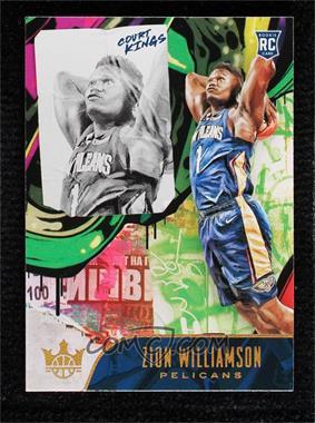 2019-20 Panini Court Kings - [Base] #105 - Rookies II - Zion Williamson