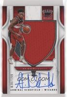 Rookie Silhouettes - Admiral Schofield [EXtoNM] #/199