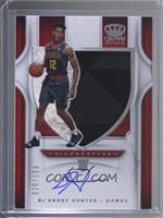 Rookie Silhouettes - De'Andre Hunter [Noted] #/199