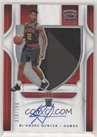 Rookie Silhouettes - De'Andre Hunter #/199