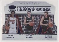 Goran Dragic, Jimmy Butler, Tyler Herro #/75
