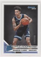 Rated Rookies - Brandon Clarke [Noted] #/349
