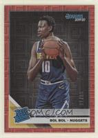 Rated Rookies - Bol Bol [Noted] #/99
