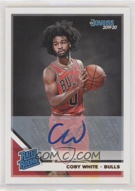 2019-20 Panini Donruss - [Base] - Signatures #206 - Rated Rookies - Coby White