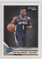Rated Rookies - Zion Williamson [EXtoNM]