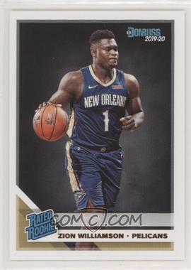 2019-20 Panini Donruss - [Base] #201 - Rated Rookies - Zion Williamson