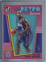 Chris Webber #/1