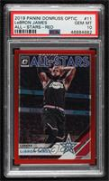LeBron James [PSA 10 GEM MT] #/99