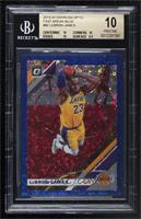 LeBron James [BGS 10 PRISTINE] #/50