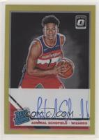 Rated Rookies - Admiral Schofield #/10