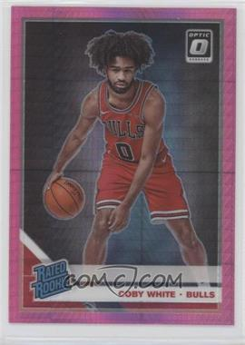 2019-20 Panini Donruss Optic - [Base] - Pink Hyper Prizm #180 - Rated Rookies - Coby White