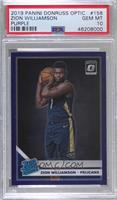 Rated Rookies - Zion Williamson [PSA 10 GEM MT]