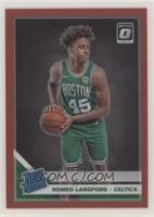Rated Rookies - Romeo Langford #/99