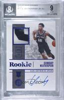 Rookie Jersey Autographs - Quinndary Weatherspoon [BGS9MINT] #/3