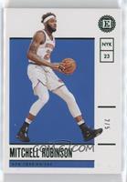 Mitchell Robinson #/5