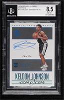 Rookie Endorsements - Keldon Johnson [BGS8.5NM‑MT+] #/1