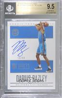 Rookie Endorsements - Darius Bazley [BGS 9.5 GEM MINT] #/99
