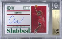 Coby White [BGS9.5GEMMINT] #/5