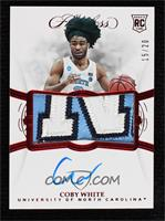 Coby White #/20