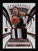Keldon Johnson #/25