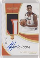 Rookie Patch Autographs - De'Andre Hunter #/25