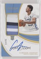 Rookie Patch Autographs - Cameron Johnson #/25