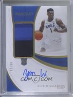 Rookie Patch Autographs - Zion Williamson #93/99