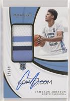 Rookie Patch Autographs - Cameron Johnson [NoneEXtoNM] #/99