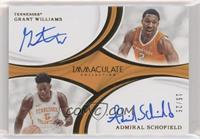 Grant Williams, Admiral Schofield #/25