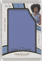 Coby White #/10