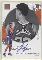 Rookie Autographs - Cameron Johnson #/99