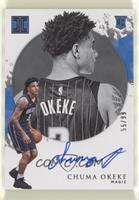 Rookie Autographs - Chuma Okeke #/99