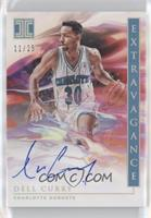 Dell Curry #/25