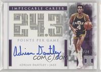 Adrian Dantley #/24