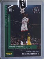All-Rookie Second Team - Terence Davis [Uncirculated] #/10