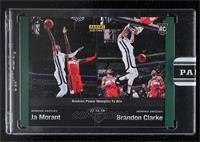 Ja Morant, Brandon Clarke [Uncirculated] #/10