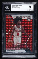 NBA Debut - Coby White [BGS9MINT] #/88